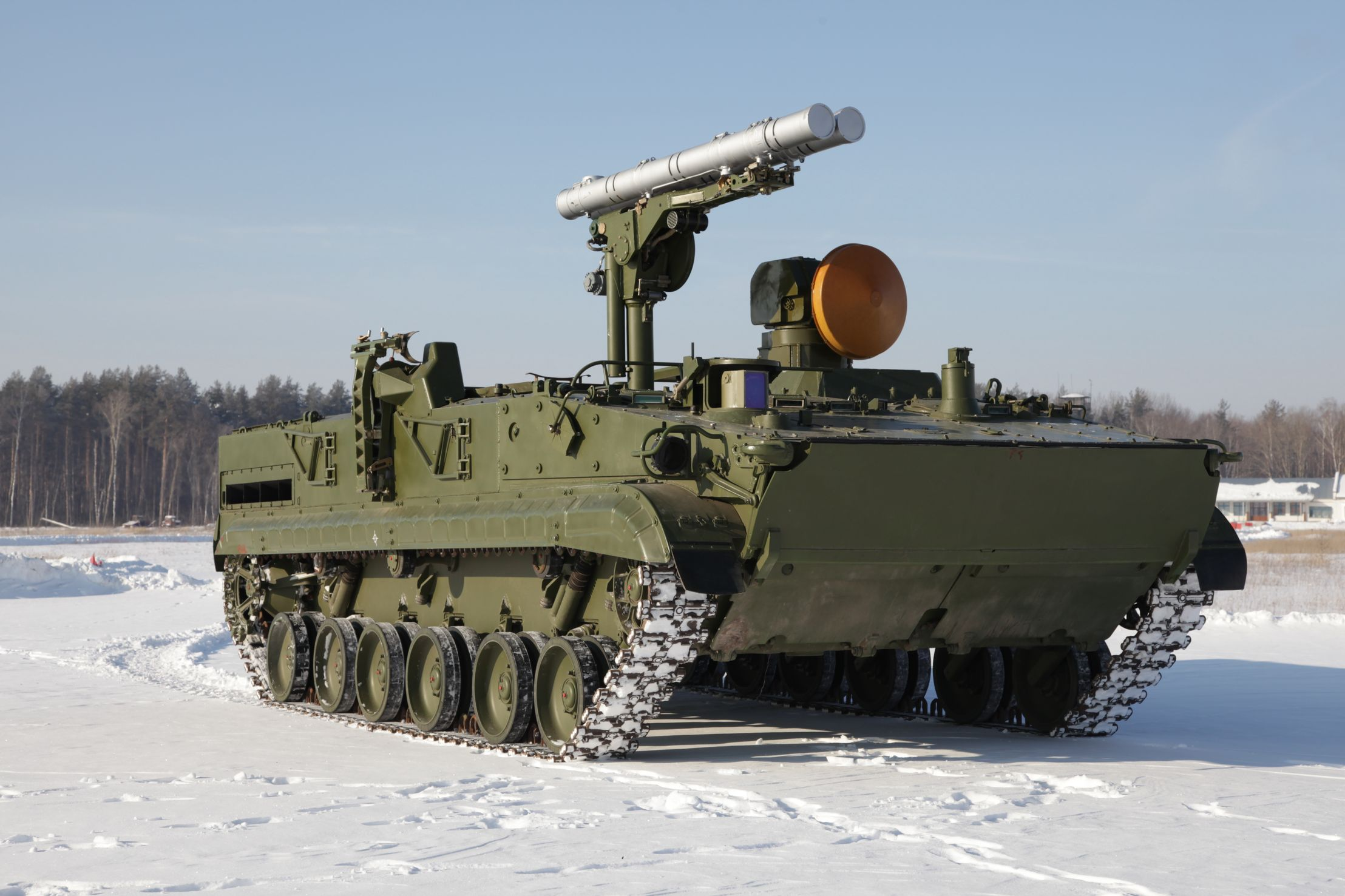 9k123 Khrizantema S All Weather Antitank Missile System